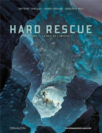 Couverture Hard rescue tome 1 + ex-libris offert