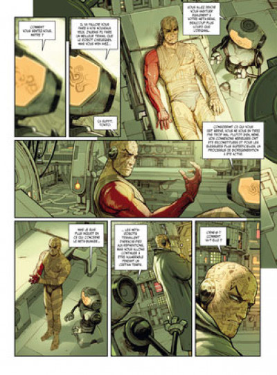 Page 5 Méta-Baron - édition luxe tome 4