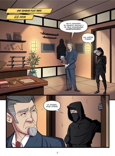 Page 7 Ninja malgré moi
