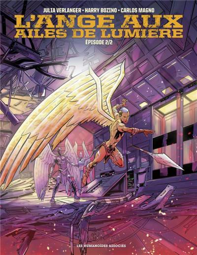 Couverture L'ange aux ailes de lumière tome 2