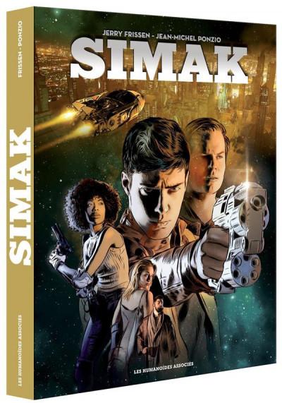 Couverture Simak - coffret tomes 1 et 2