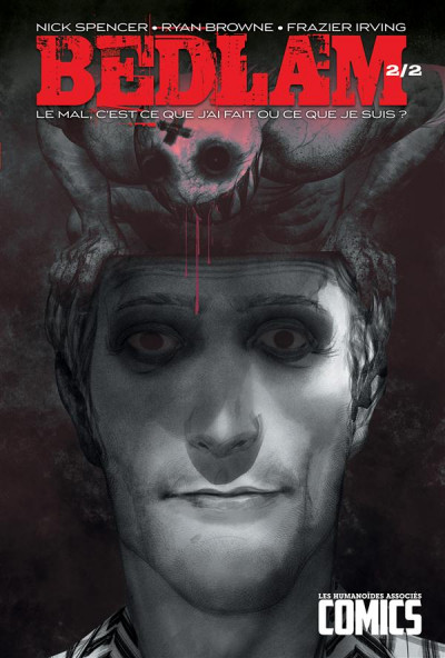 Couverture Bedlam tome 2