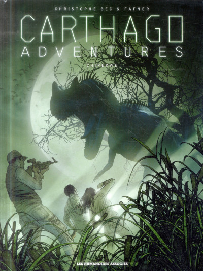 Couverture Carthago adventures tome 2