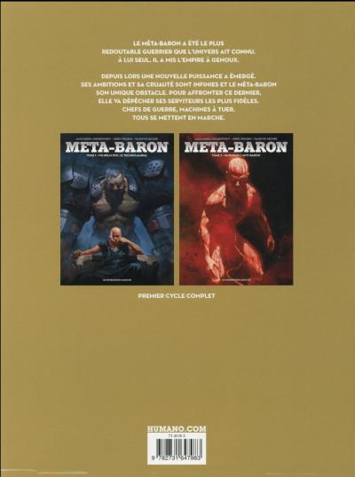 Dos Méta-Baron - Coffret tome 1 + tome 2