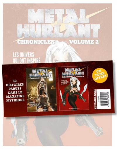 image de Métal Hurlant Chronicles - Pack tome 1 + tome 2 (1 tome offert)