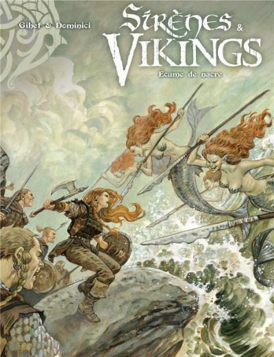 Couverture Sirènes et vikings tome 2
