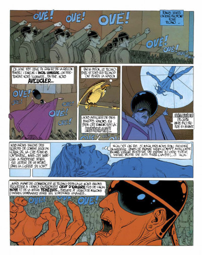 Page 1 l'incal tome 2 - l'incal lumière - luxe