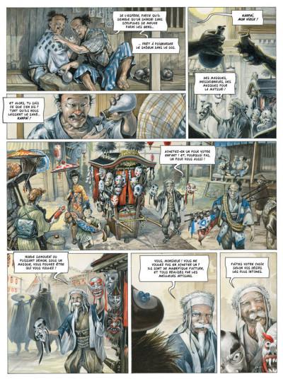 Page 2 Le masque de Fudo tome 1