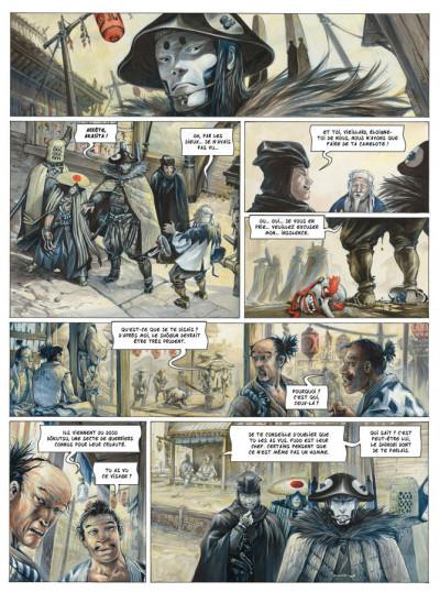 Page 3 Le masque de Fudo tome 1