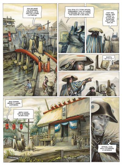 Page 4 Le masque de Fudo tome 1