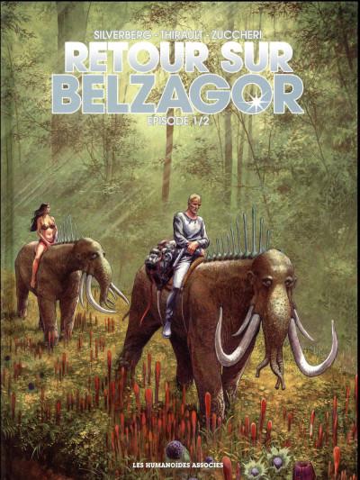 Couverture Retour sur Belzagor tome 1 + ex-libris offert