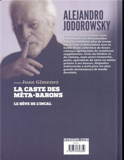Dos Jodorowsky 90 ans tome 6