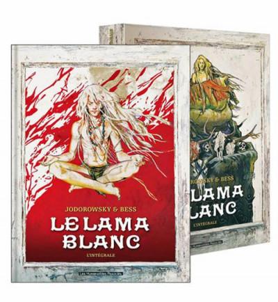 image de le lama blanc ; intégrale sous coffret