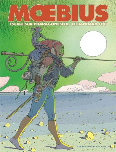 Couverture Moebius oeuvres - Diptyque : Escale sur pharagonescia et le Bandard fou
