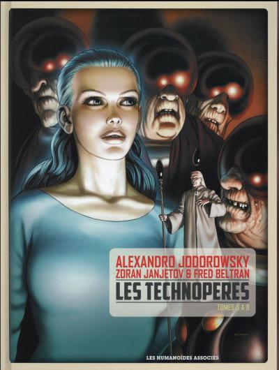 Couverture Les Technopères - intégrale tomes 5 à 8