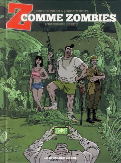 image de Z comme zombies tome 2 - L'Immonde perdu