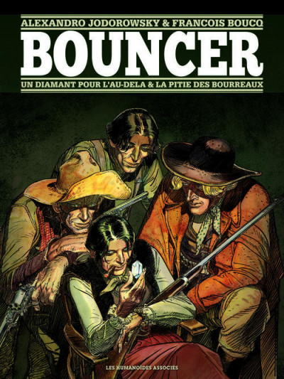 Couverture bouncer tome 1 et tome 2 - édition luxe n&b