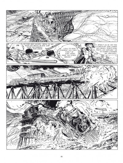 Page 2 bouncer tome 1 et tome 2 - édition luxe n&b
