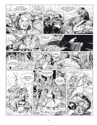 Page 3 bouncer tome 1 et tome 2 - édition luxe n&b