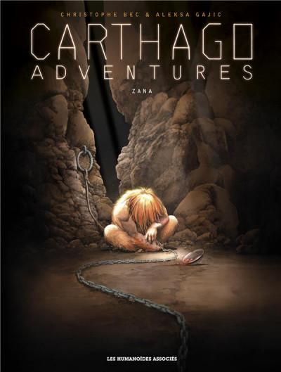 Couverture Carthago adventures tome 5 + ex-libris offert