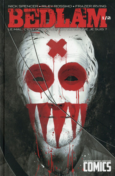Couverture Bedlam tome 1