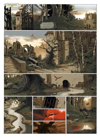 Page 6 le manoir des murmures ; intégrale