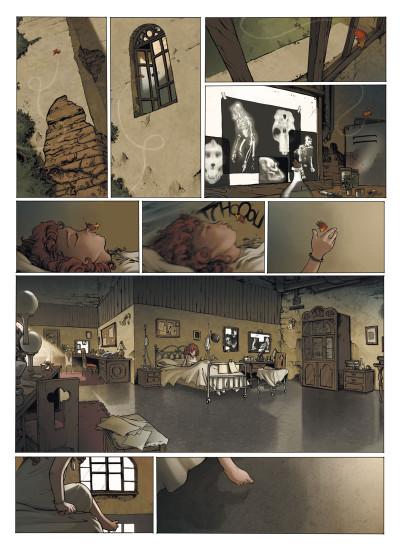 Page 7 le manoir des murmures ; intégrale