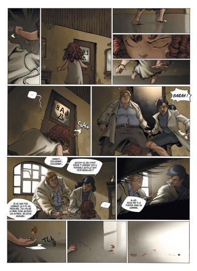 Page 8 le manoir des murmures ; intégrale