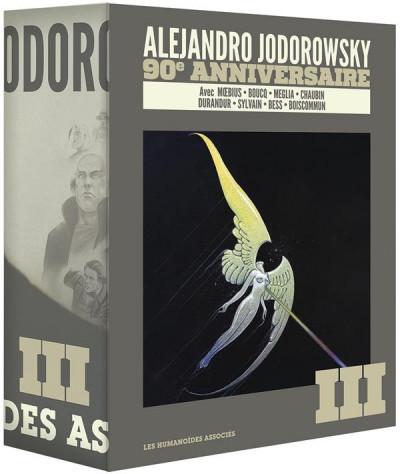 Couverture Jodorowsky 90 ans - coffret tome 3