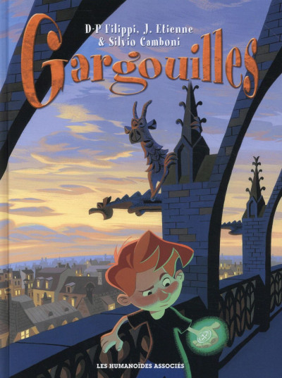 Couverture Gargouilles - Intégrale 40 ans