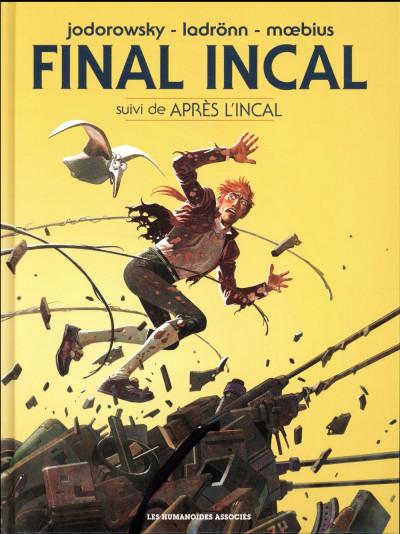 Couverture Final Incal - intégrale