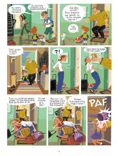 Page 4 gargouilles tome 1 - le voyageur