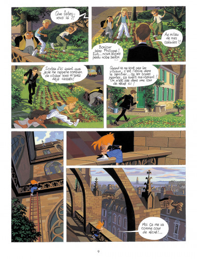 Page 8 gargouilles tome 1 - le voyageur