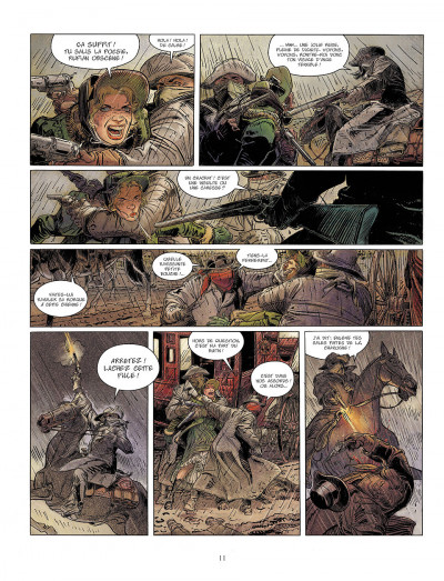 Page 9 bouncer tome 2 - la pitie des bourreaux