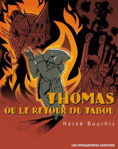 Couverture thomas ou le retour du tabou