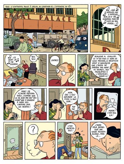 Page 2 la vie de victor levallois tome 1 - trafic en indochine