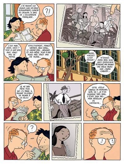 Page 3 la vie de victor levallois tome 1 - trafic en indochine