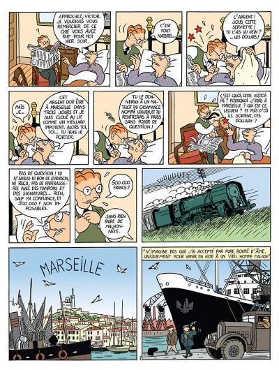 Page 8 la vie de victor levallois tome 1 - trafic en indochine