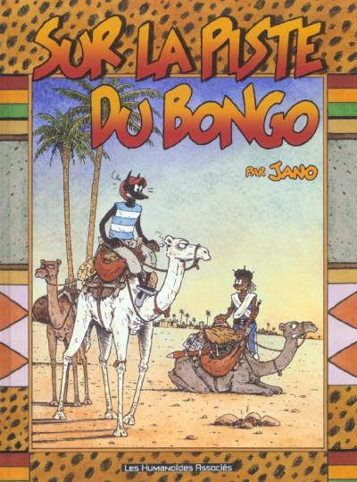 Couverture sur la piste du bongo
