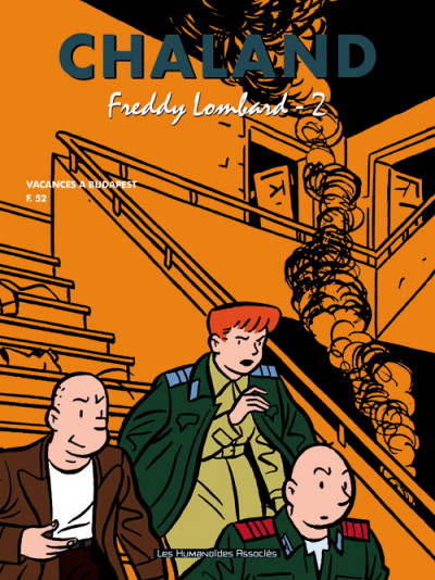 Couverture tout chaland tome 2 - intégrale freddy lombard tome 2