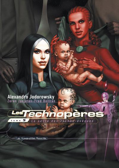 image de les technopères tome 5 - la secte des techno-évêques