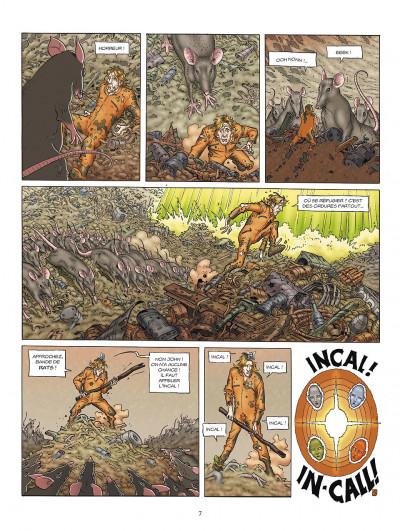 Page 7 l'incal tome 3 - ce qui est en bas
