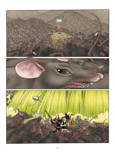 Page 8 l'incal tome 3 - ce qui est en bas