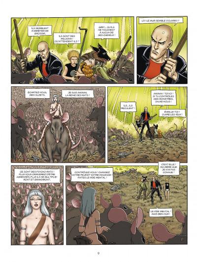 Page 9 l'incal tome 3 - ce qui est en bas