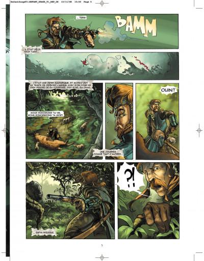 Page 5 l'enfant de l'orage tome 1 - pierres de sang