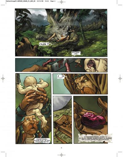 Page 6 l'enfant de l'orage tome 1 - pierres de sang