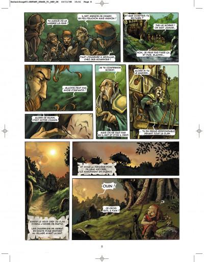 Page 8 l'enfant de l'orage tome 1 - pierres de sang