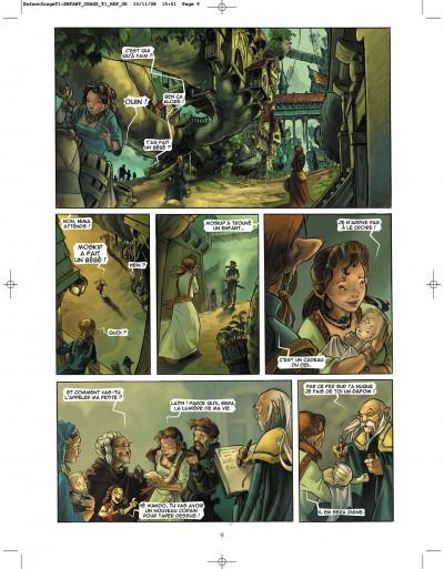 Page 9 l'enfant de l'orage tome 1 - pierres de sang