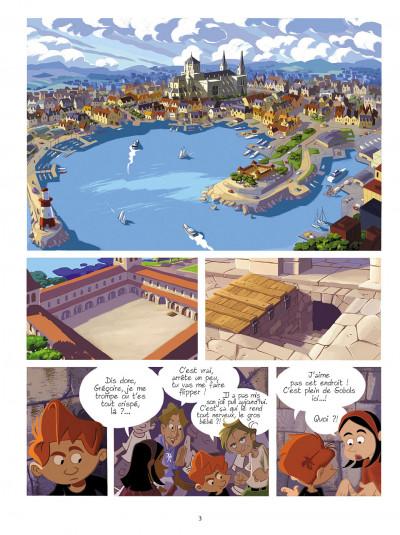 Page 2 gargouilles tome 2 - la clef du temps