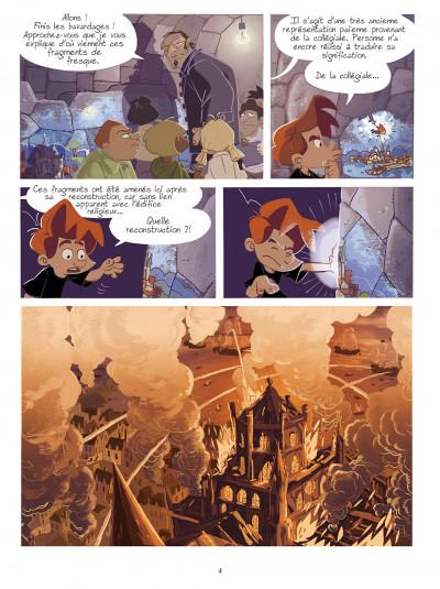 Page 3 gargouilles tome 2 - la clef du temps